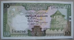 10 Rupees 1987 (WPM 96A) - Sri Lanka