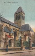 57 Metz église Saint Eucaire 1921  Borne Incendie - Metz