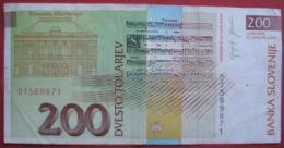 200 Tolar / Tolarjev  2004 (WPM 15d) - Slowenien