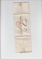 PRECURSEUR D AMSTERDAM POUR GAND TYPE 11 - 1829 A VOIR - 1815-1830 (Dutch Period)