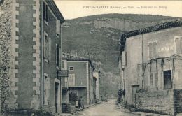 PONT-DE-BARRET (Drom) -- PLACE -- INTERIEUR  DU  BOURG - Frankreich