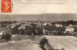 CPA - ST-JULIEN-EN-GENEVOIS (74) - Vue Générale Vers La Gare Et La Ville - Saint-Julien-en-Genevois