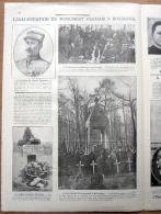 """Magazine Avec Article """"Lieutenant Ernest Psichari, Tué En Aout 1914 à Rossignol (Tintigny)"""" 1924 - 1914-18"""