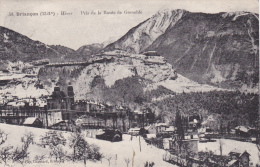 Briancon Hiver Pris De La Route De Grenoble - Briancon