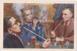 Chromo : Lierre Concours De Fumeurs De Pipes - Folklore Belge Cote D'or 2 E Série N° 230 (chocolat) - Lier