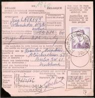 1029 Sur Mandat De Poste, Obl. St Gillis Bij Dendermonde - 1953-1972 Bril