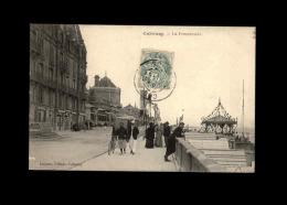 14 - CABOURG - Promenade - Kiosque - Cabourg