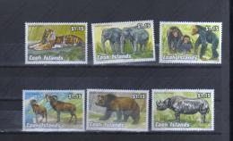 COOK  ISLANDS Nº 1036 AL 1041 - Elefantes