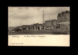 14 - CABOURG - Plage - Kiosque - Sémaphore - Cabourg