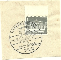 BRD Briefstuck Sonderstempel Hankensbuttel Kloster Henhagen 5/8/1965 - [7] West-Duitsland