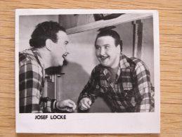 JOSEF LOCKE Joseph McLaughlin Autographe sur Photo Photographie Autograph Picture Vintage Irish t�nor