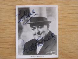 TALBOT O�FARRELL O Farrell  Autographe sur Photo Photographie Autograph Picture Vintage Actor Comedian Artist
