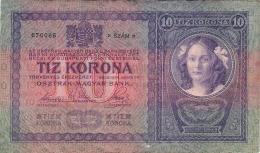 Hungary 10 Korona 1904.  10 Kronen - Hungary