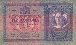 Hungary 10 Korona 1904.  10 Kronen - Hongrie