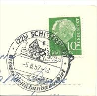 BRD Briefstuck Sonderstempel Schifferstadt Grosses Lettichanbaugebiet 5/8/1957 - [7] West-Duitsland