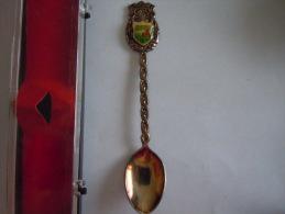 DRACHENFELS Vintage Souvenir  Lepel Petite Cuillère Little Spoon Argenté Silverplated (ref 16) - Cuillers