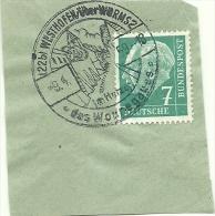 BRD Briefstuck Sonderstempel Westhohofen Uber Worms Im Harz 9/4/1959 - [7] West-Duitsland