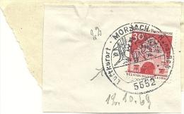 BRD Briefstuck Sonderstempel  Morbach 5552 Luftkurort Hunsruck 12/10/1964 - [7] West-Duitsland