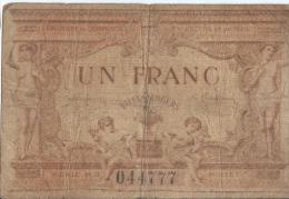 Chambre De Commerce D'Angers/Ville D'Angers/ 1 Franc /  Maine Et Loir/ 1915       BIL99 - Chamber Of Commerce