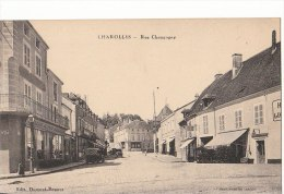 71 CHAROLLES   Nouvelles GALERIES Charollaises  HOTEL  Automobiles Rue Champagny FONTAINE - Charolles