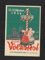AK Volksfest Erfurt 1936 - Erfurt