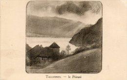 CPA - TALLOIRES (74) - Illustration De André Jacques(1921) Du Prieuré De Talloires - Talloires