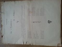 Publication Musicale Des Chansonniers De Montmartre - Partitions Musicales Anciennes