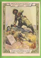 ILLUSTRATORE PISANI CADUTO DI ADUA COLONIALE CARTOLINA FORMATO GRANDE PROBABILMENTE VIAGGIATA IN BUSTA - Guerra 1939-45