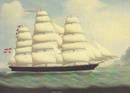 Schiffahrtsmuseum  Flensburg  Germany. Vollschiff  Doris Brodersen C. 1880     # 02794 - Museen