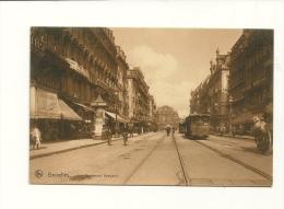 Bruxelles : Boulevard Anspach - Avenues, Boulevards