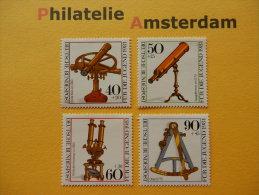 Germany West 1981, JUGEND/ OPTISCHE INSTRUMENTEN / OPTICAL INSTRUMENTS: Mi 1090-93, ** - [7] Repubblica Federale