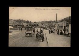 14 - DEAUVILLE - Attelage Cheval - Deauville