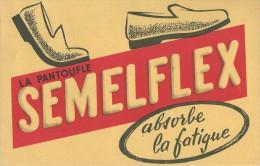 """La  Pantoufle   """"  SEMELFLEX   """"             -   Ft  =  21 Cm  X 13.5 Cm - Chaussures"""