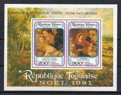 PINTURA/RUBENS - TOGO 1981 - Yvert  #H159 - MNH ** - Rubens