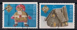 Norwegen  (2001)  Mi.Nr.  1411 + 1412  Gest. / Used  (ai55) - Norwegen