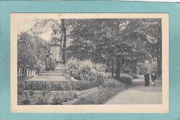 LIERRE  -  STATUE  DE  TONY  BERGMAN  - 1923  - BELLE CARTE ANIMEE  - - Lier