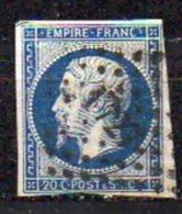 N°14 - OBLITERATION PC1727  GUEMENE-PENFAO  42 - 1853-1860 Napoléon III