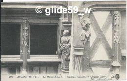 ANGERS - La Maison D'Adam - Sculpture Représentant L'Angevin Célèbre - N° 203 - Angers