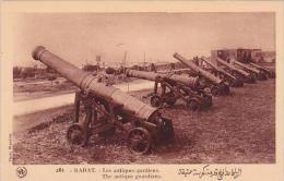 Morocco Rabat The Antique Guardians Canons 1920s-30s - Rabat
