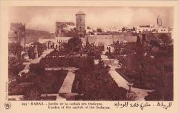 Morocco Rabat Garden Of The Casbah Of The Oudayas 1920s-30s - Rabat