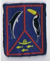 Insigne  Tissu  Marine Colonie - Navy