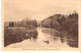 Traves (Bucey-lez-Traves-Vesoul- Haute-Saône)-Vue Sur La Saône En Amont Du Pont-Barques - Vesoul