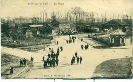 Aire-sur-la-Lys. La Gare - Aire Sur La Lys
