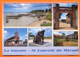 LA GUYANE - ST LAURENT DU MARONI Avec Son Ancien Bagne - Camp De La Transportation - Saint Laurent Du Maroni