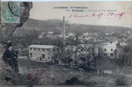 63 - TALLENDE - L' Usine Et Vue Générale - Animée - VDC - France