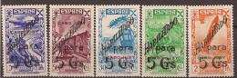 CJBE7STV-LFT4072TBE. Marruecos Maroc Marocco.Historia Del Correo. CABO JUBY ESPAÑOL BENEFICENCIA  1941.(Ed 7/11**).LUJO - Wohlfahrtsmarken