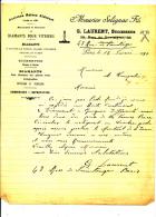 PARIS - Diamants Pour Vitriers, Graveurs, Opticiens - G. Laurent 1931 - 1900 – 1949