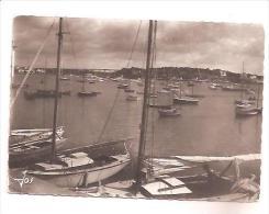 CPSM 56 LA TRINITE SUR MER Le Port En Plein été Et Le Pont De Kerisper 1964 - La Trinite Sur Mer