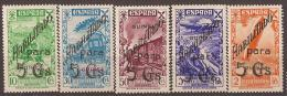 GUIBE07-L4071TAN. Guinnee.Guinea Español.Historia,transpor Te Del Correo.  BENEFICENCIA  1941.(Ed 7/11**).LUJO - 1931-50 Nuevos & Fijasellos