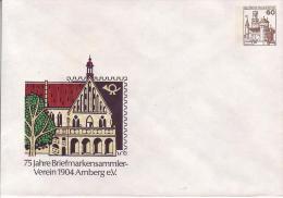 PU 114/37**  75 Jahre Briefmarkensammler-Verein 1904 Amberg E.V. - Privatumschläge - Ungebraucht